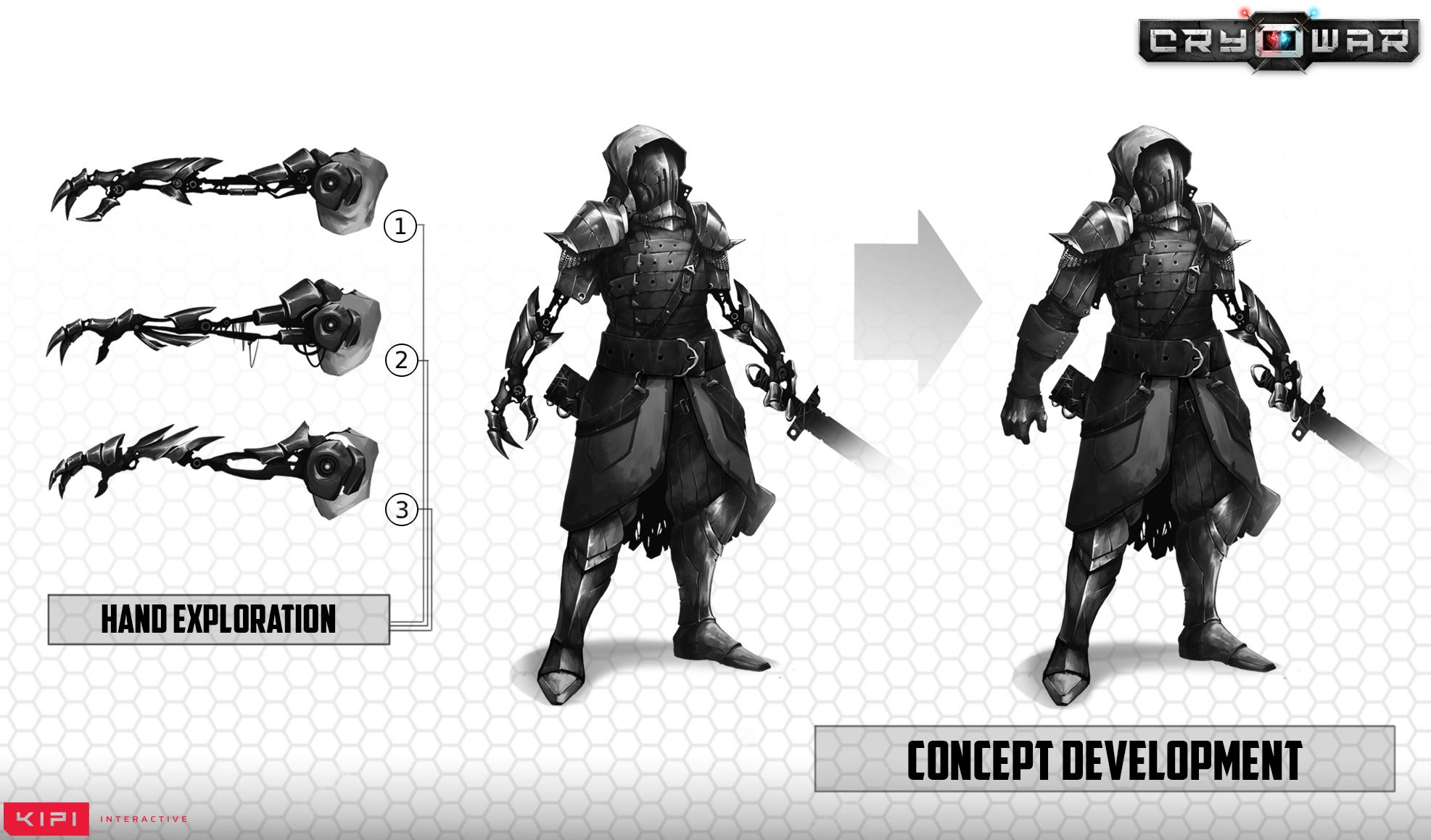 Cryowar Centurion Concept Art Arm